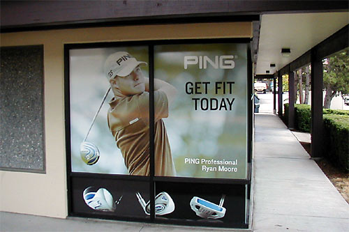 Window signs for business